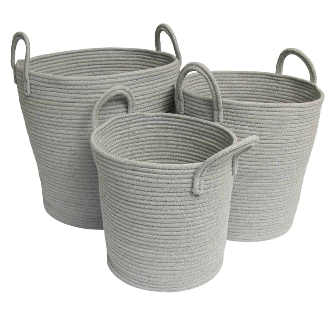 Grey Baskets SQ