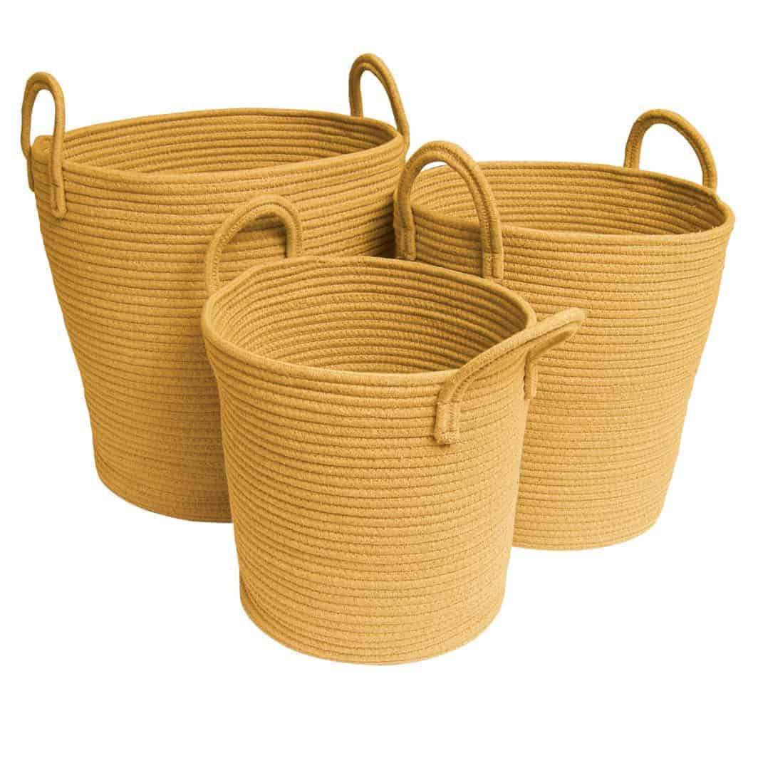 Mustard Baskets SQ